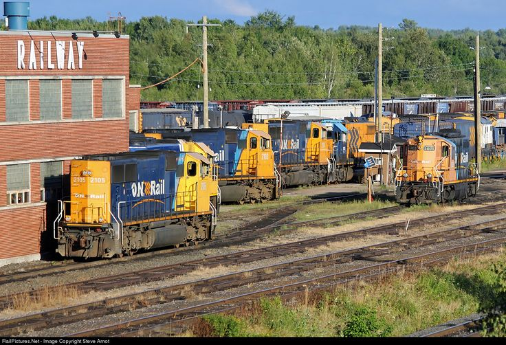 RailPictures.Net Photo: ONT 2105 Ontario Northland EMD SD75I at North Bay, Ontario, Canada by Steve Arnot