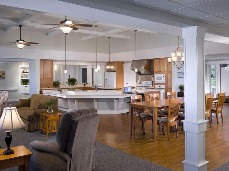 122 best design senior living images on pinterest for Senior living dining room