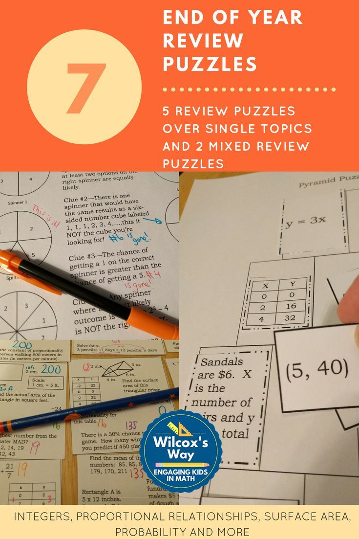 336 best middle school math images on pinterest high school maths great review of 7th grade content with these 7 puzzles review integers probability ccuart Choice Image
