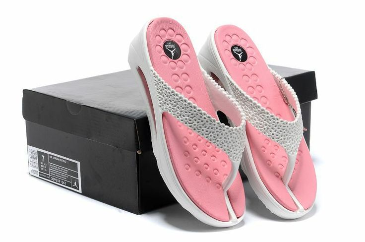 Air #Jordan #Slipper #Womens Pink White 309259 061  #Thunderbolt #products