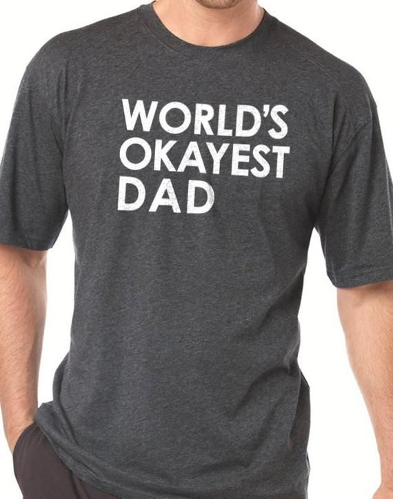 orlds okayest dad mens - 600×600