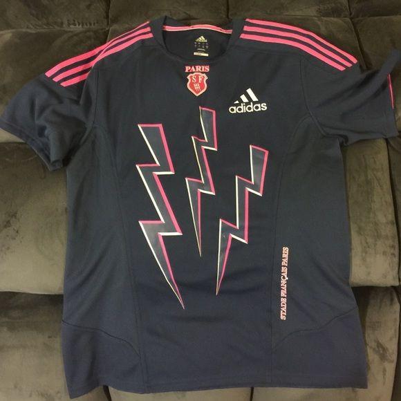 New w/o Tags Stade Francais Paris Rugby Shirt Never worn Stade Francais Rugby Shirt. Adidas Other