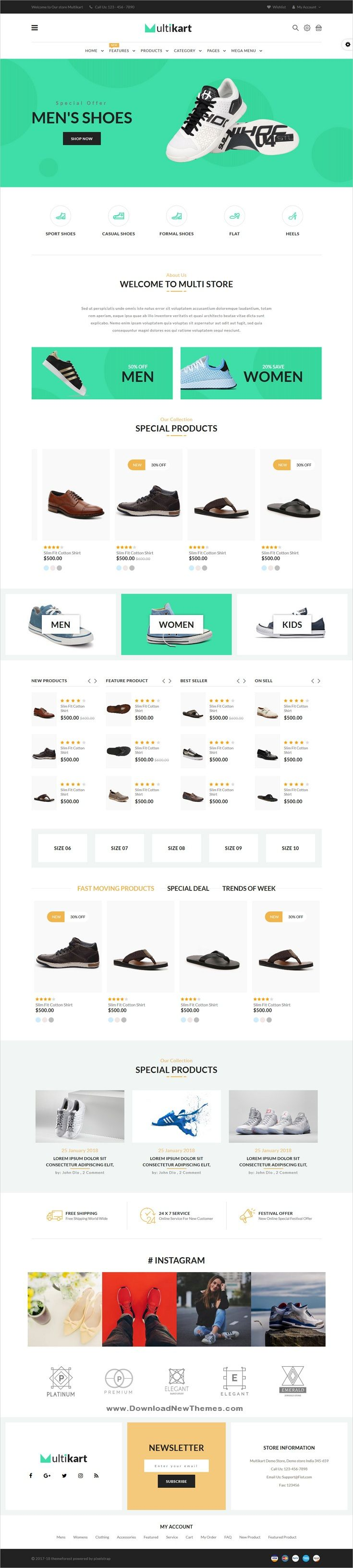 Email Receipt Template Shoe Store
