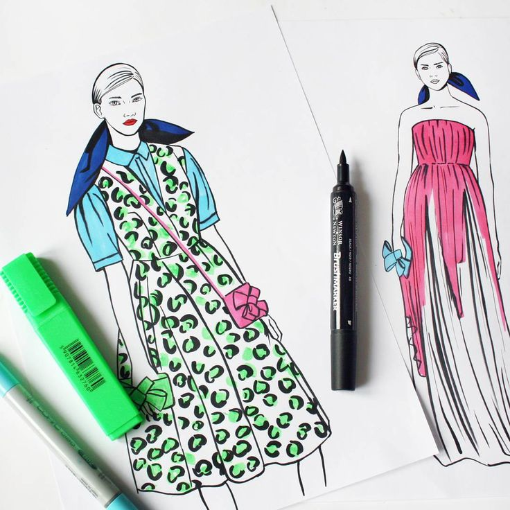 #fashion #fashionillustration #delpozo #illustration #moda