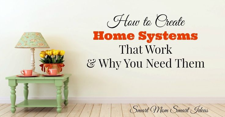 Do you use home systems? Home systems are an easy way to keep your home life organized. Find out how you can set-up simple home systems today.
