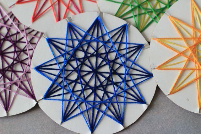 String star weaving.