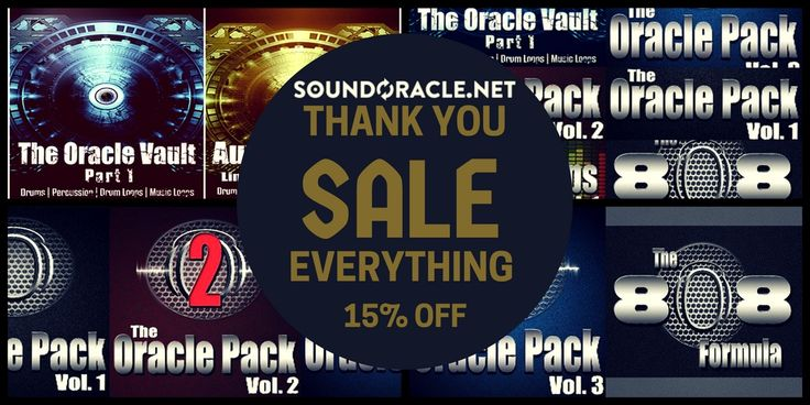 All #sounds, #soundlibraries, #soundpacks, and #soundbundles are on sale for 15% OFF Soundoracle.net