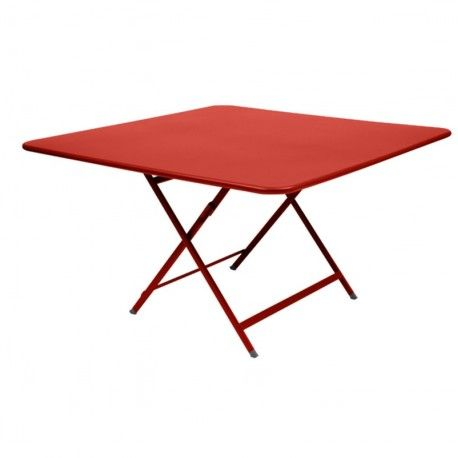 Table Caractre Pliante Fermob Dimension 128x128cm A Quoi Sert Un Jardin Ou Une Terrasse
