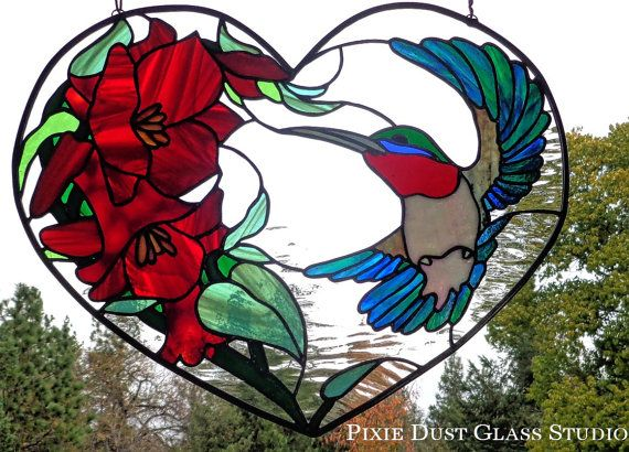 997 Best Stained Glass Birds Images On Pinterest