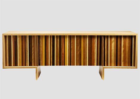 Recycled Wood Dresser by Marcenaria – Cercadinho | Furniture