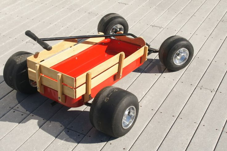17 Images About Slammed Radio Flyer Wagons On Pinterest