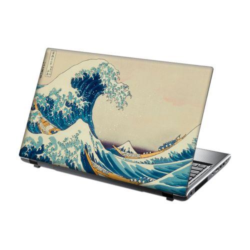 Laptop Skin Vinyl Sticker Great waves of Kanagawa
