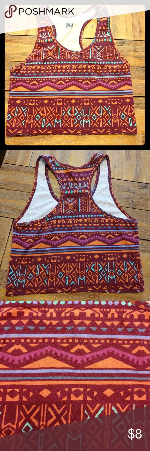 Nollie Aztec Crop Top Exciting Aztec crop top! Perfect for a music festival or day at the beach!! Get ready for summer!!! Nollie Tops Crop Tops