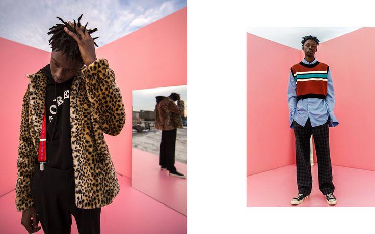 Fig Collective Website - Korean Brand - Fashion Editorial menswear 2