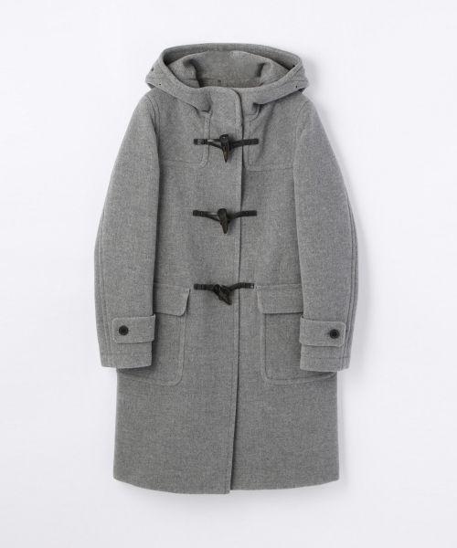 fashion | duffel coat | TOMORROWLAND MACPHEE | gray