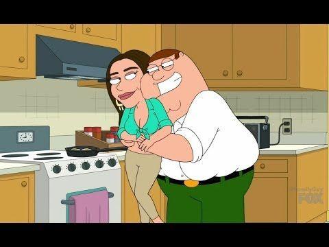 Family Guy - Sofia Vergara Replaced Lois - YouTube