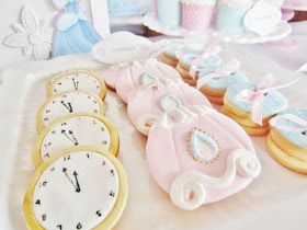 Kids Party Hub: Featured Party: Cinderella Themed Dessert Table
