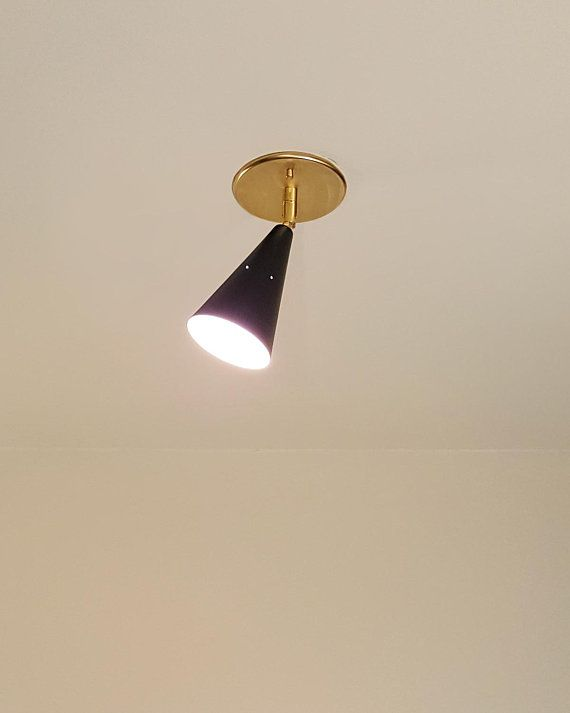 Contra 01 Spotlight Contemporary Mid Century Inspired Custom Lighting Wall Mounted Lamps Light Fixtures Ceiling