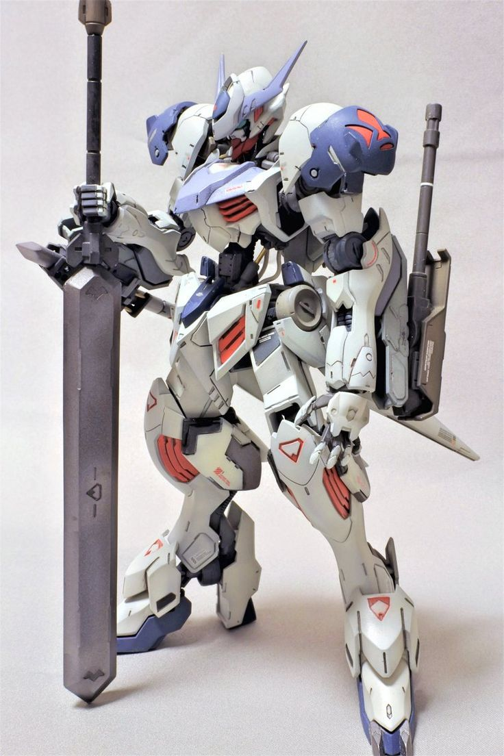 HG 1/144 Gundam Barbatos Lupus - Painted Build     Modeled by Nikke