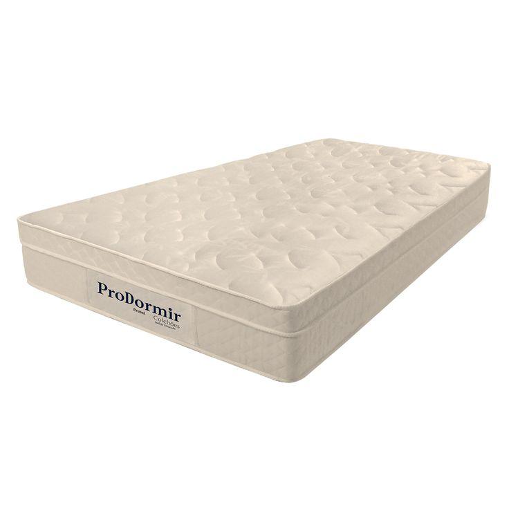 Colchão Solteiro Probel Molejo Ensacado 88x188x22cm Euro Pillow Pro Dormir  Com molas escadas individualmente, este colchão da Probel é extremamente confortável. Oferece estabilidade na hora de deitar e possui matelassê, que deixa a maciez ainda melhor na hora de deitar. A superfície é coberta por um tecido em poliéster, que protege ainda mais o colchão, garantindo maior durabilidade. Além disso, ele conta ainda com tratamento antiácaros e antifungos, contribuindo para um sono melhor.