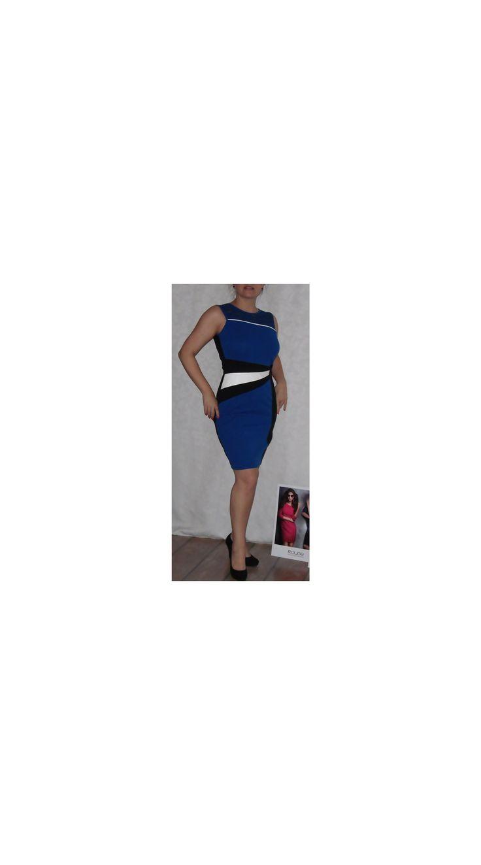 Kék alkalmi ruha L vagy M méret, rövid ujjú alkalmi ruha - Ruházat összes - Női Ruha Webáruház - Alkalmi ruhák, tunikák, Felsők
