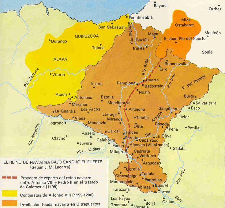 Navarra con Sancho VII