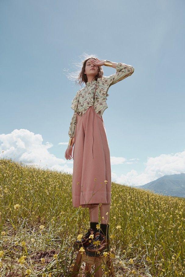 Fashion: Farm bringt romantische Kollektion mit Wish Floral Prints auf den Markt   – _______ sie sagen van gogh hat gelbe farbe gefressen