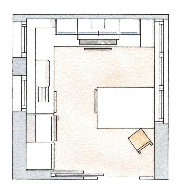 Небольшая Г-образная кухня / Интерьер / Архимир