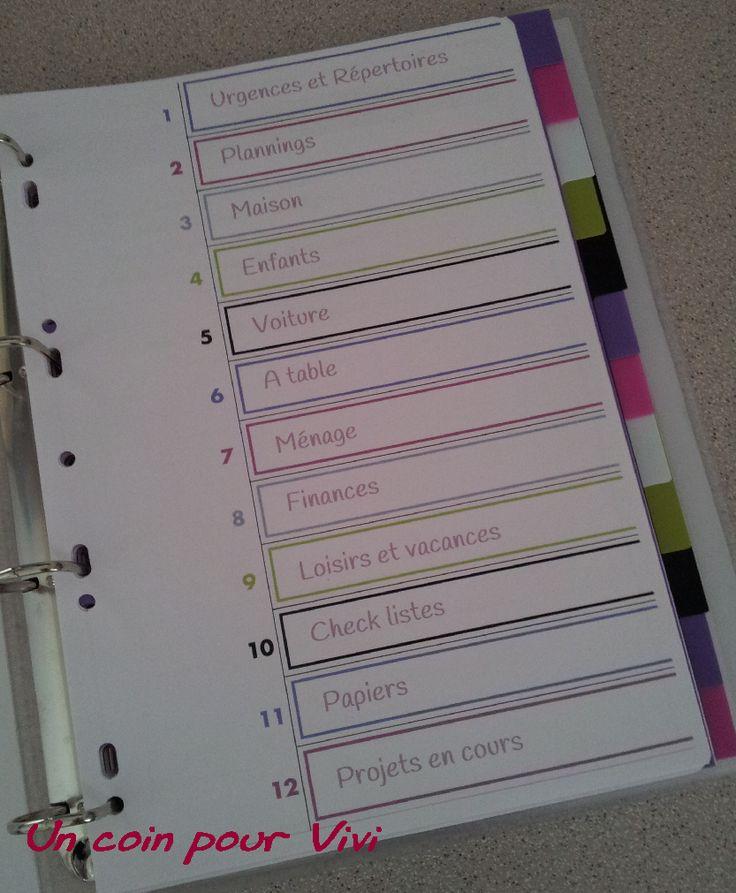 les différentes parties de mon classeur de maman organisée  http://1boutdevie.over-blog.fr/pages/Mon_classeur_de_maman_organisee--7434922.html