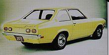 Chevrolet Vega - 1971 sedan notchback