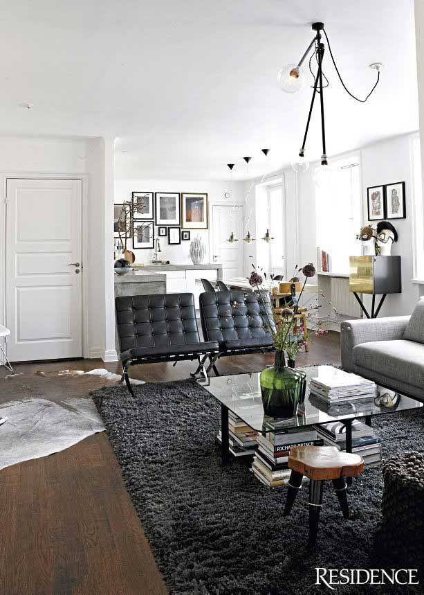 1228 best home and office decor images on pinterest for Barcelona chair living room ideas