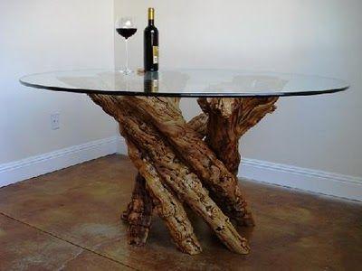 M s de 1000 ideas sobre mesa de tronco en pinterest - Mesa de tronco ...