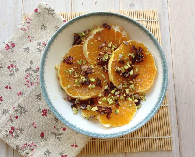 Ensalada árabe de naranja