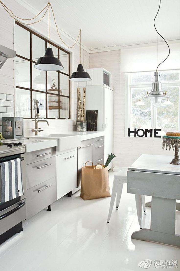 Meer dan 1000 ideeën over Keukenmuur Kleuren op Pinterest - Keuken ...