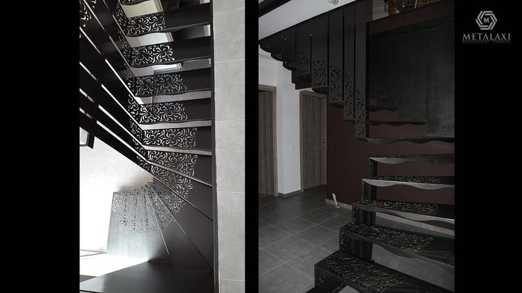 METAL STAIR - ΜΕΤΑΛΛΙΚΗ ΣΚΑΛΑ Stair made of metal with a unique pattern. Life is in the details. Metalaxi Innovative Architectural Products. www.metalaxi.com