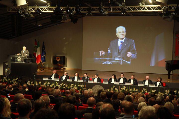 Sergio Mattarella inaugura l'Anno Accademico 2017/2018 al #Politcnico #Torino
