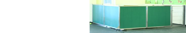 See why our tall, colorful dog gates are very popular as kennel room dividers. Direct Animal dog day care equipment with stainless steel frames.