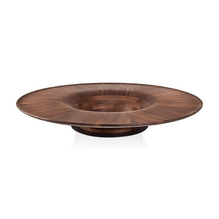 Estrutura toda em madeira composta. Opção de fundo vazado ou com centro em mármore e tampo em vidro transparente.