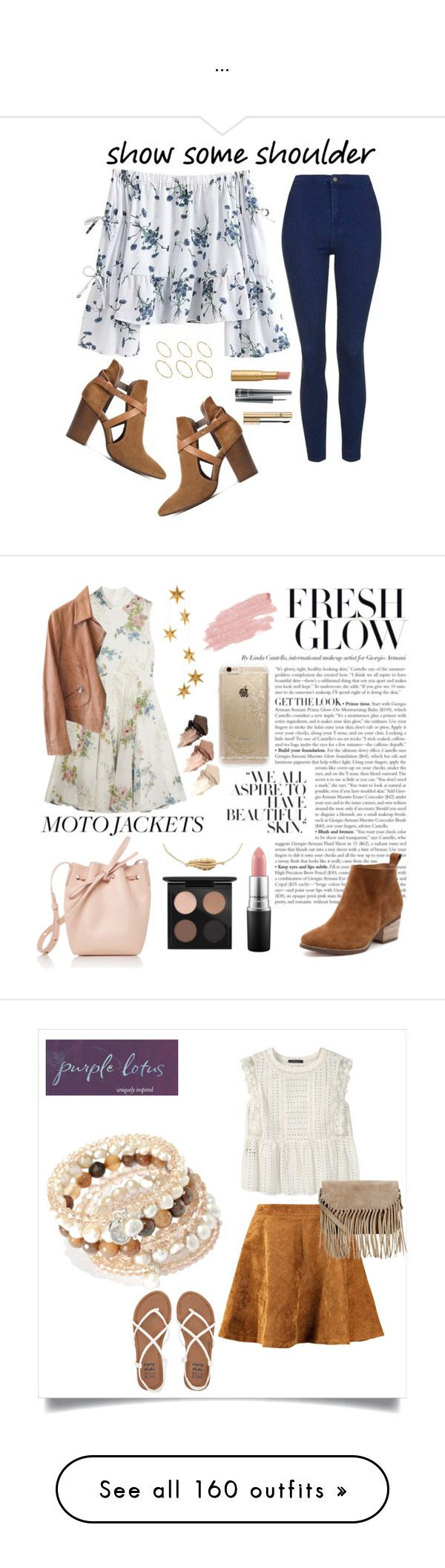 """..."" by aylin-schroeder on Polyvore featuring Mode, Topshop, H London, ASOS, D&G, MAC Cosmetics, Too Faced Cosmetics, Topshop Unique, Armani Collezioni und Mansur Gavriel"