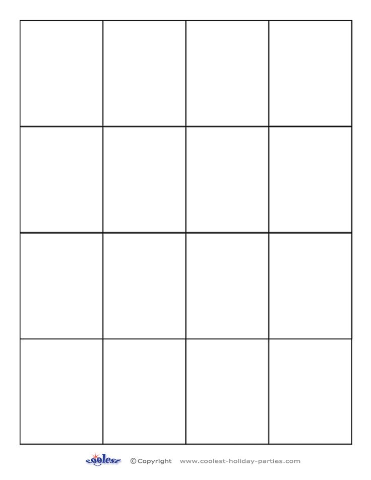 Blank memory game 850 1100 activity pages for In memory cards templates