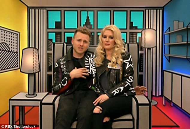 Parenthood: Heidi Montag, pictured with husband Spencer Pratt in the Big Brother house confided in an interview last year that she wants to become a mother in 2017