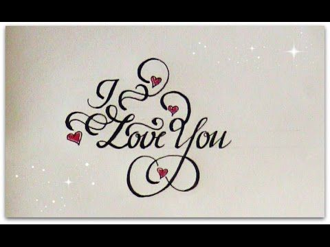 007 how to write in cursive I love you for beginners