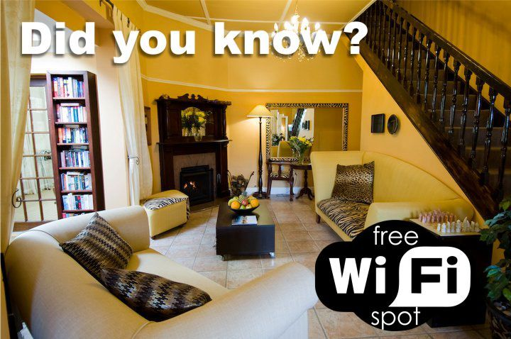 Did you know? We offer free wifi to our guests.