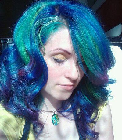 Gorgeous, SFX Blue Velvet & Fish Bowl.Blue Velvet, Purple Hair, Hair Colors, Bluegreen, Blue Green, Teal Hair, Blue Hair, Green Hair, Colors Hair