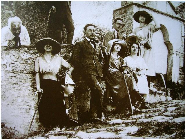 Portaria, Greece, 1921. Aristotelis Zachos, photographer