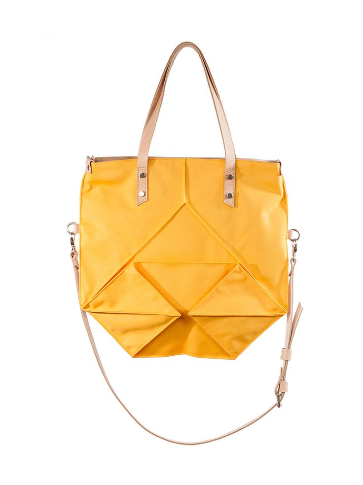Ducsai Folded Bag Yellow from Designrs.co
