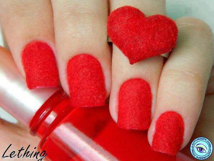 3fafb24078868788cba6e8e4a67ecad6 red nail polish red nails - Download Beautiful Nails With Flower View - InspiriToo.