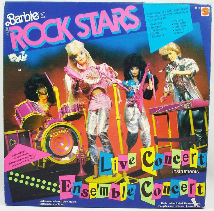 mattel barbie rock stars outfits | Barbie Rock Stars - Instruments Ensemble Concert - Mattel ...