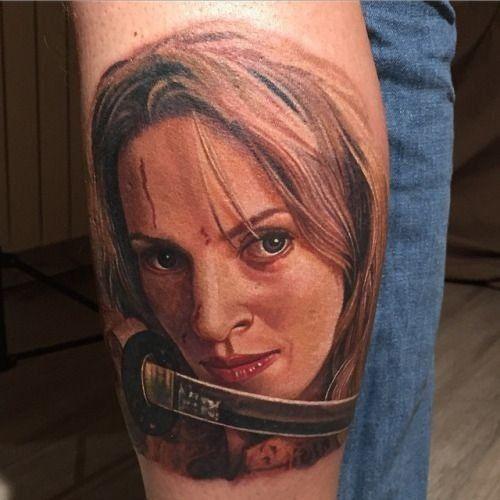 Tattoos inspired by action movies kill bill tattoo kill for Black mamba tattoo