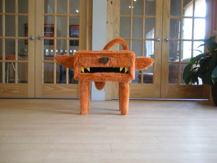 I Think We Should Name Him Max. Awesome Furry Furniture Designed With  Repurposed Materials.